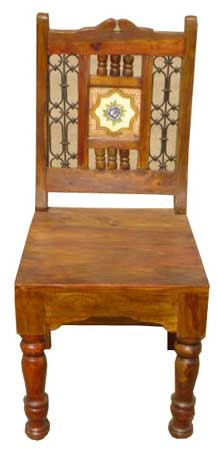 Wooden Dining Chair;