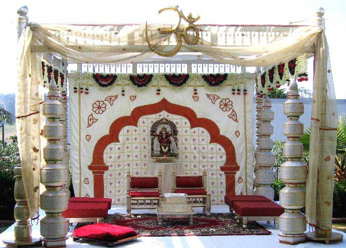 Wedding Mandap;